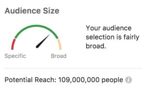Facebook Ads Audience Size Estimator